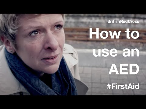 First Aid: Using an automated external defibrillator (AED)