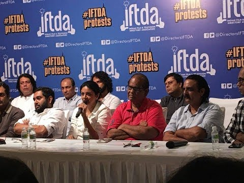 IFTDA Press Conference - Supporting Freedom of Expression against CBFC | Babumoshai Bandookbaaz