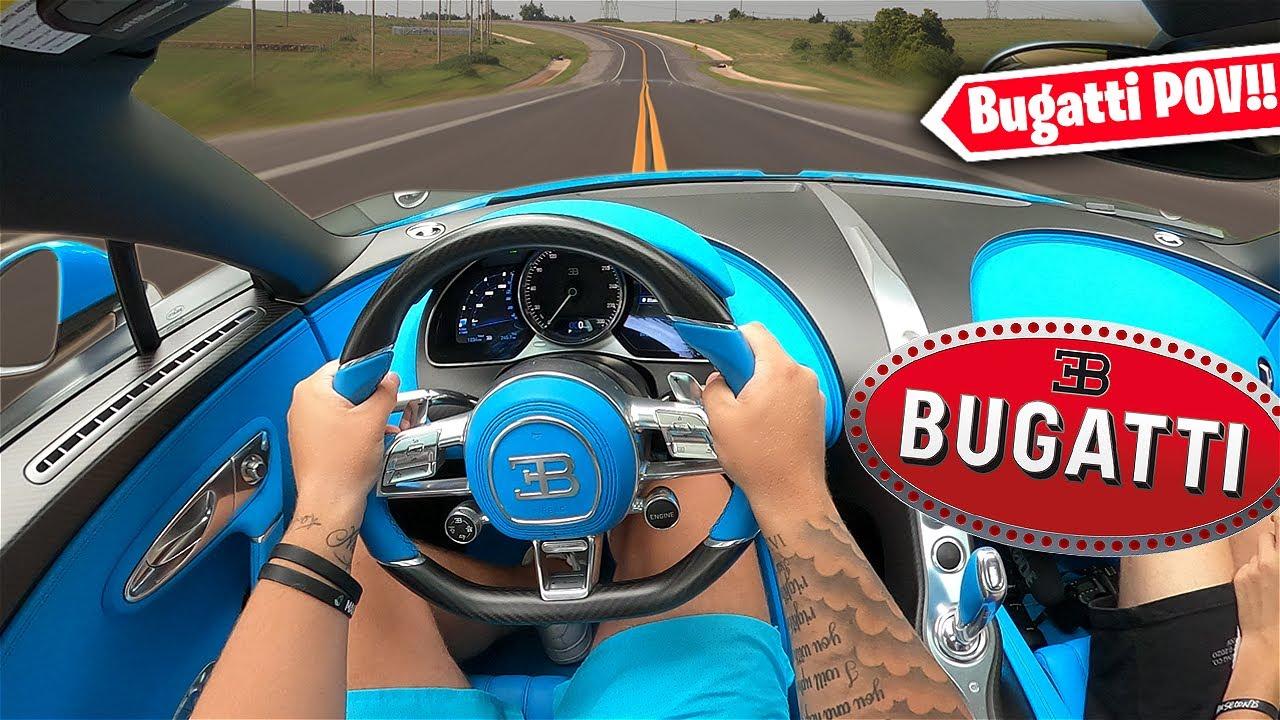 $4,000,000 Bugatti Chiron Sport POV
