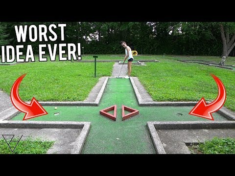 My Worst Mini Golf Idea Yet...
