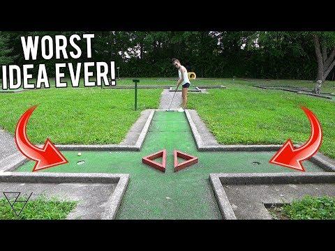 My Worst Mini Golf Idea Yet…
