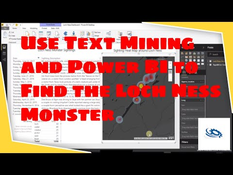 Loch Ness Monster Text Mining And Power BI