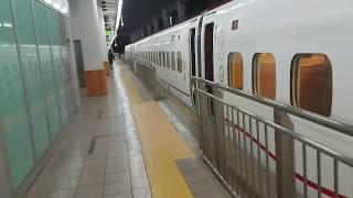 【2019年1月】今年初の新幹線ホームへ