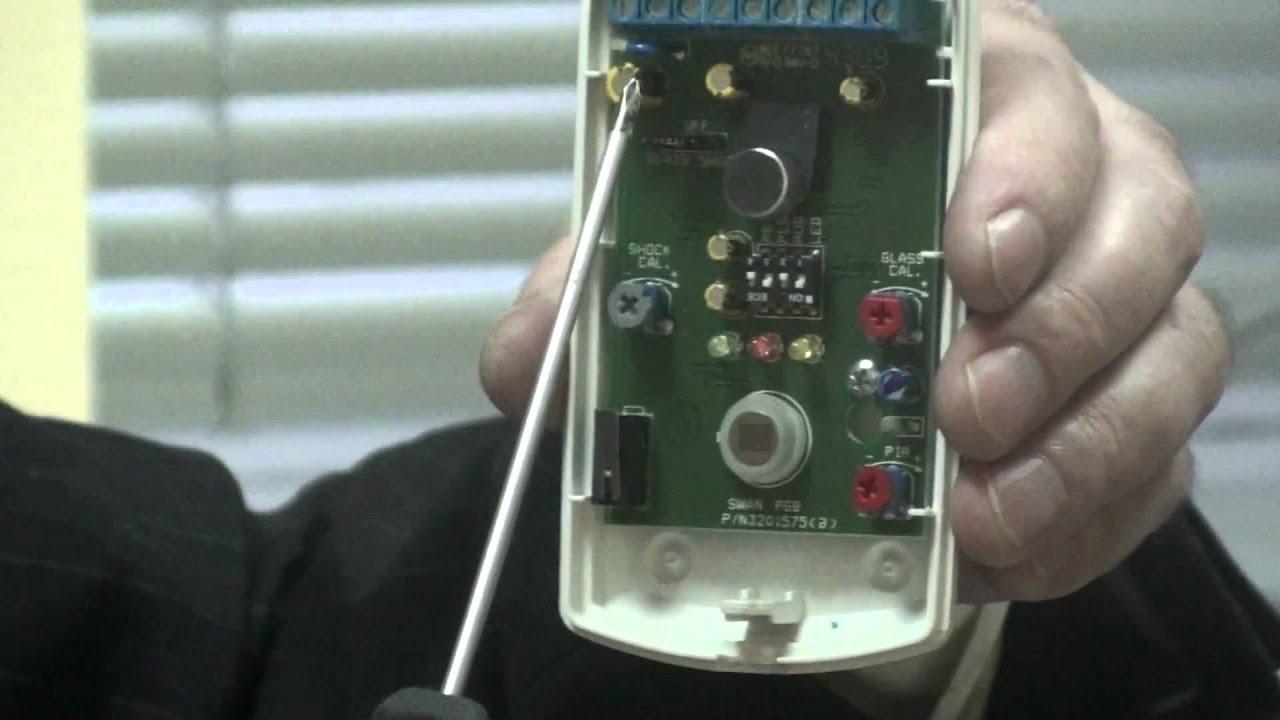 SWAN PGB датчик движения и разбития стекла в одном корпусе