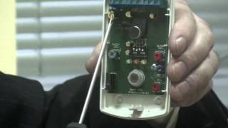 видео LC-101 CAM | LC-101 CAM - пассивный ИК объемный извещатель | пассивный ИК объемный извещатель - LC-101 CAM