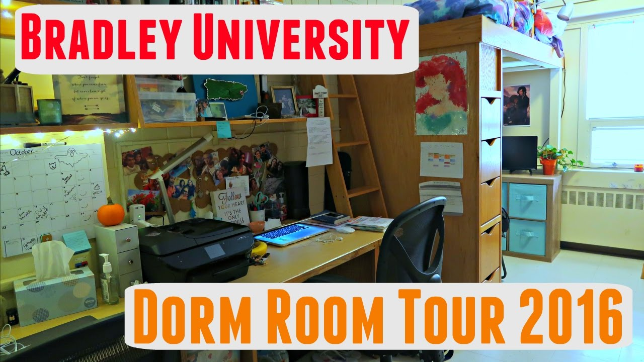 Bradley University Dorm Rooms
