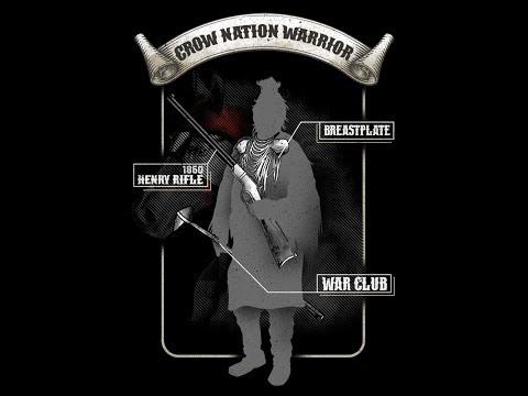 Vintage Operator: Crow Nation Warrior T-Shirt!