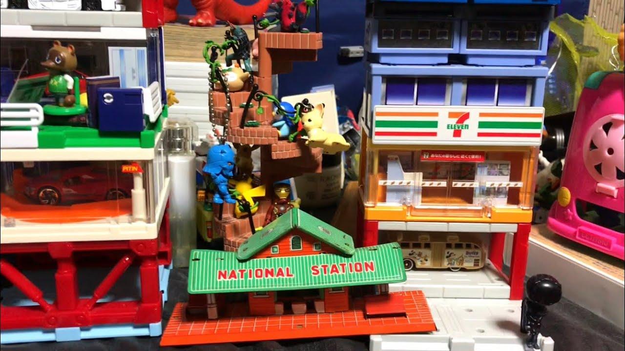 おもちゃのまち トミカタウンビルドシティ Toy Town Tomica Town Build City 移動させました!