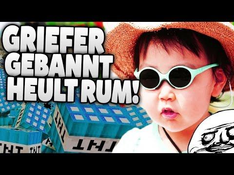 """""""DU HU****OHN"""" ICH GRIEFE DICH! - GRIEFER WIRD VERARSCHT, GEBANNT UND HEULT RUM! :D"""