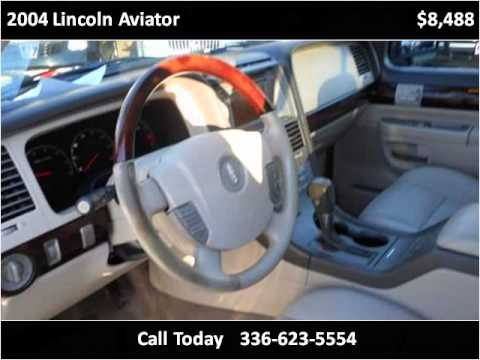 2004 Lincoln Aviator Used Cars Eden Nc Youtube