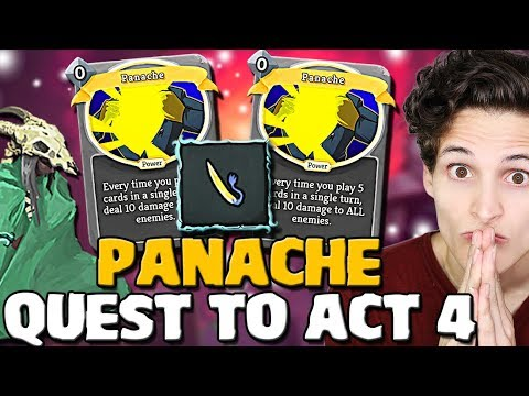 Slay The Spire - Ascension 20 Silent | Act 4 Attempt! Double Panache Deck