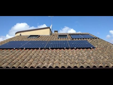 Impianto Fotovoltaico 6 4 Kw Sunpower 3 Inverter Conto Energia Youtube