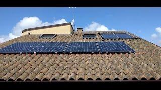 Impianto fotovoltaico 6,4 kw sunpower 3 inverter conto energia(Impianto fotovoltaico da 20 pannelli sunpower 320w 48a in silicio monocristallino con 3 inverter... immissione in rete secondo conto energia. Potenza 6,4kw., 2016-05-12T12:24:58.000Z)