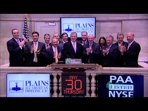 Plains All American Pipeline Visits the NYSE