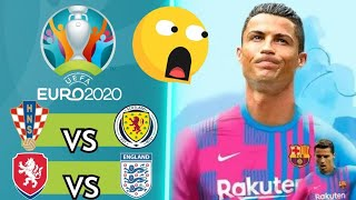 Republica Checa vs Inglaterra | Croacia vs Escocia | ¿Cristiano Ronaldo nuevo jugador del Barcelona?