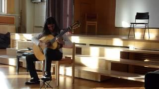Eliot plays Sevilla (Suite Espagnole) by Isaac Albeniz