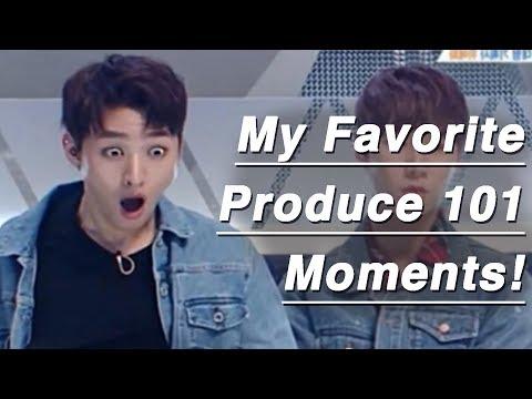 My Favoitre Produce 101 Season 2 moments [ep 0-11]