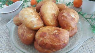 Пирожки на кефире за 15 минут. Пышные и очень вкусные Eng tez pirojki tayyorlash.