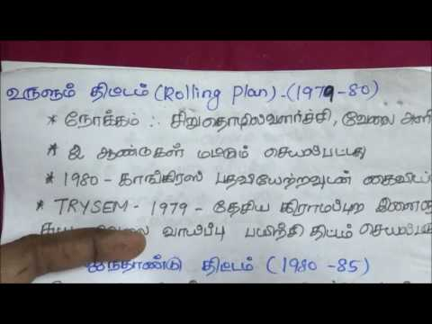 Tnpsc Economics in Tamil - 4