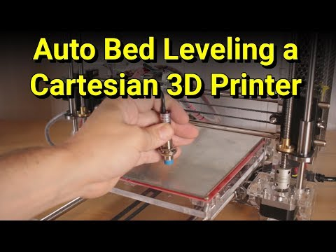 Upgrading a 3D printer with Auto Bed Leveling - Featuring the GEEETech i3 pro B