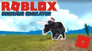 Roblox Dinosaur Simulator - The New Riot Shield Triceratops Update!
