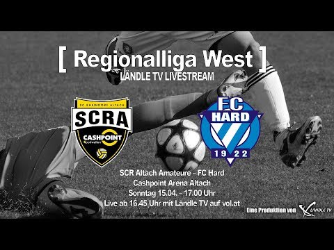 LIVE: SCR Altach Ama. - FC Hard