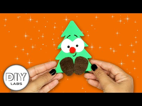 CHRISTMAS TREE ORNAMENT | Clothespin Craft | Fast-n-Easy | DIY Labs