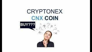 CNX coin, CNX ICO REVIEW, CRYPTONEX coin
