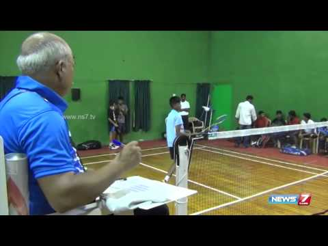 Junior state ranking badminton tournament at Thoothukudi | Tamil Nadu | News7 Tamil