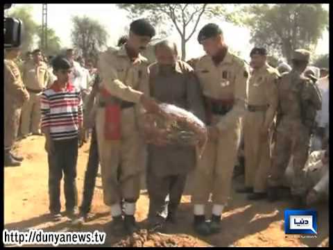 Dunya News-Martyr lieutenant Fahad laid to rest