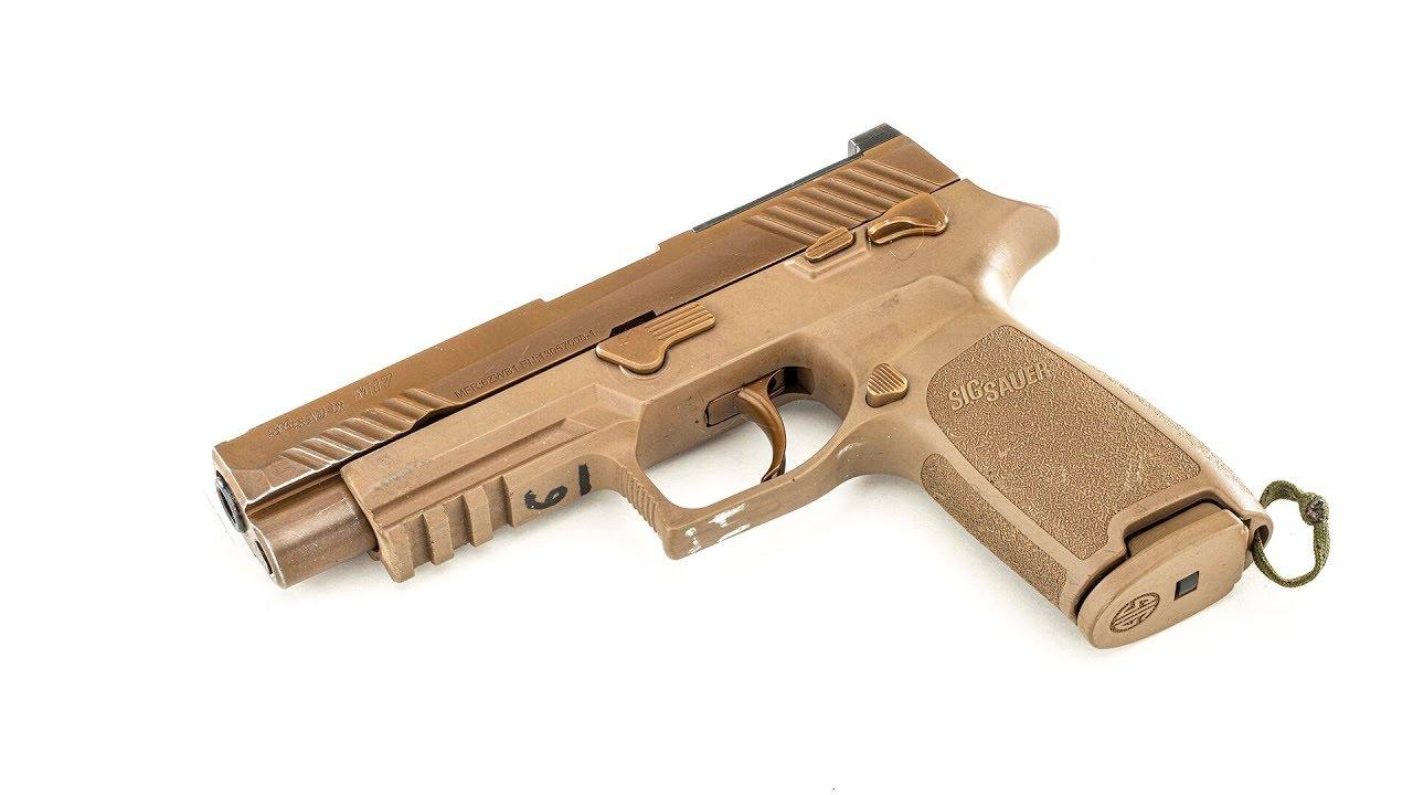US Army Surplus Decommissioned Sig Sauer M17 Pistol #829