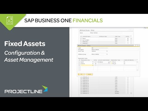Fixed Assets in SAP Business One
