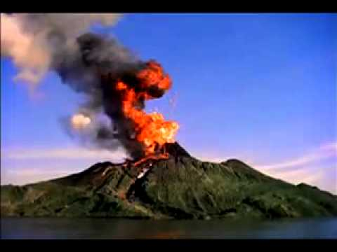 download volcano erupting video youtube