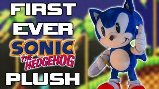 What Was The First Ever Sonic The Hedgehog Plush?