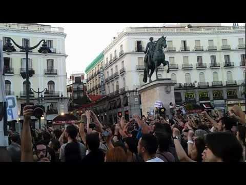 Pozo Maria Luisa #MarchaMinera Puerta del Sol 11/07/12