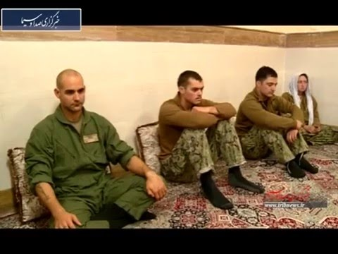 US Sailors Cry after being captured by Iran IRGC