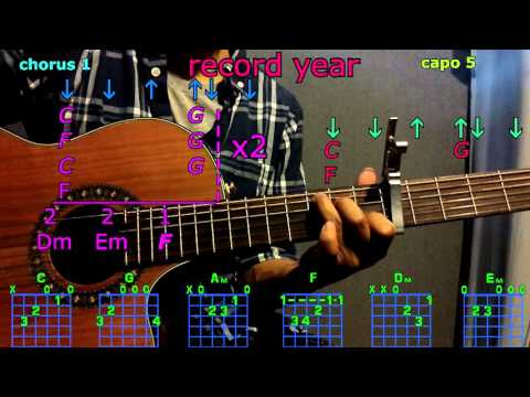 record year eric church guitar chords