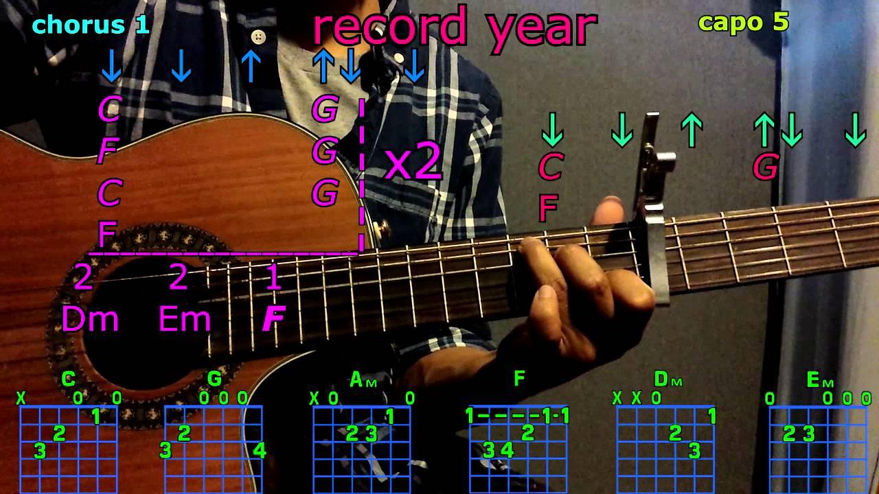 Record year eric church guitar chords youtube record year eric church guitar chords hexwebz Gallery