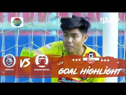 Arema FC (2) vs (0) Madura United - Goal Highlights | Shopee Liga 1