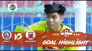Arema Fc (2) Vs (0) Madura United   Goal Highlights | Shopee Liga 1