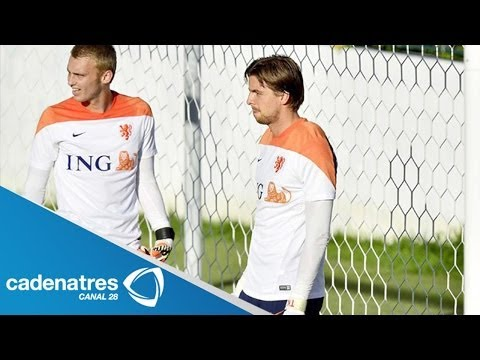 Tim Krul, la apuesta de Van Gaal para detener los penales de Costa Rica