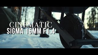 CINEMATIC SIGMA 16mm f1.4 | a must buy lens!