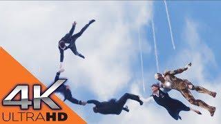 Тони Старк Спасает Людей в Воздухе ★ Железный Человек 3 (2012)