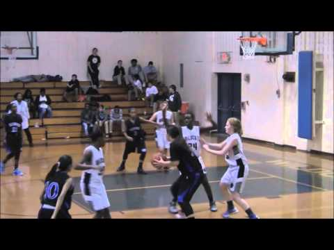 Wakefield Girls vs West Mill and Durant