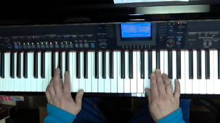Sweet about me - Gabriella Cilmi - Keyboardlessons Yamaha, Tyros, PSR or CVP