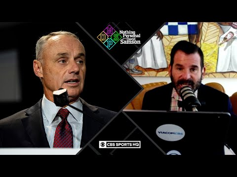Rob Manfred, MLB senior staffers REDUCE SALARIES by 35 PERCENT | Nothing Personal with David Samson