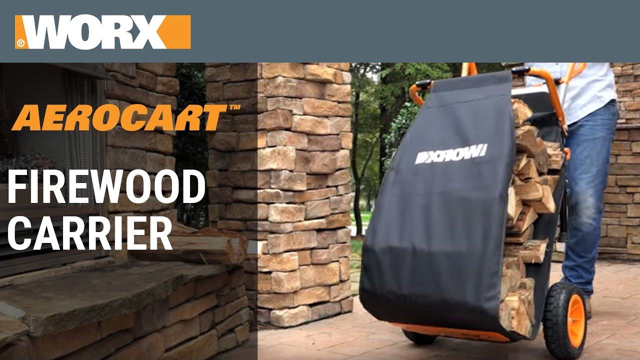 worx aerocart firewood carrier wa0232 - Firewood Carrier