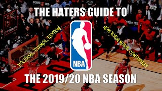 The Haters Guide to the 2019/20 NBA Season