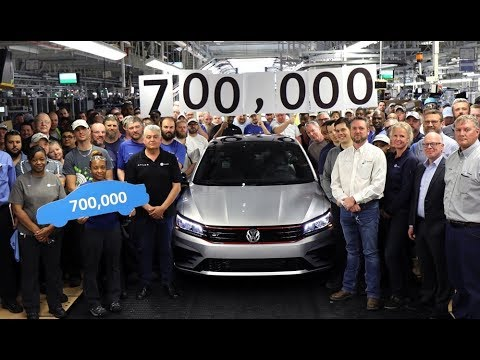 700,000th VW Passat Built at Chattanooga Plant