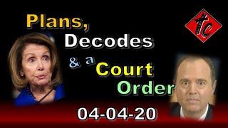 Plans, Decodes, & a Court Order